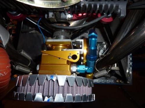 Rotec TBI and K&N Air Filter