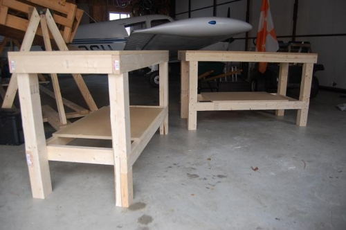 2'x5' Construction Tables