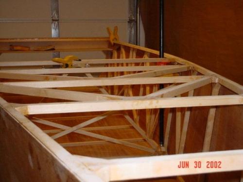 Top Diagonal Fuselage Structure