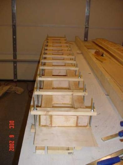 Center Spar Plywood