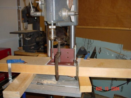 Drilling Holes for Landing Gear Bracket