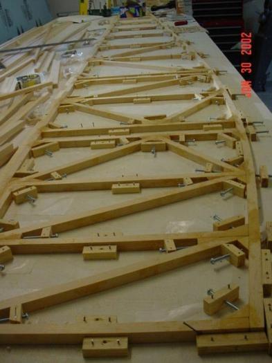 Jigging for fuselage ladder