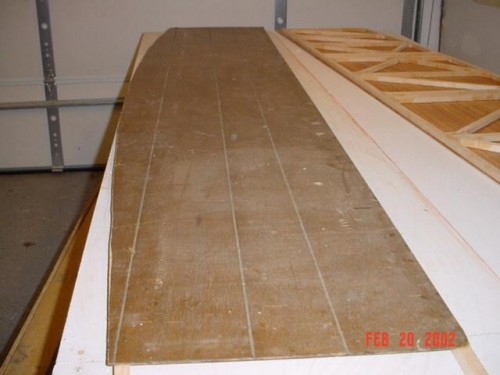 Panel cut to shape of side