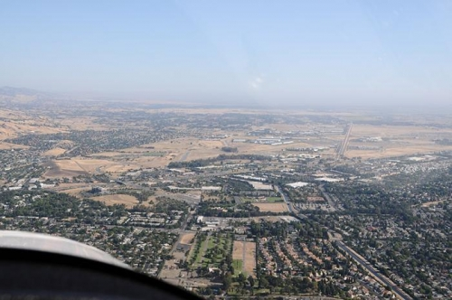 Nut Tree Airport In The Distance