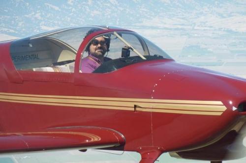 Matt's First Solo Flight In The New RV-6