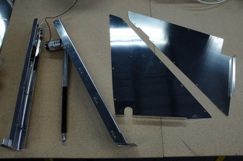 Electric Flap Mounting Components