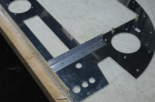 Adding Vertical Stiffeners To Back Of Metal Panel