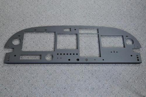 Powdercoated Instrument Panel