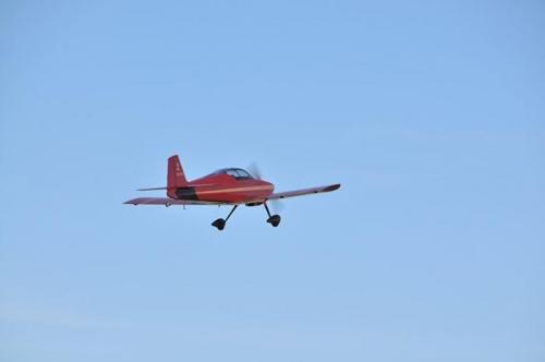 Test Flight -  Takeoff