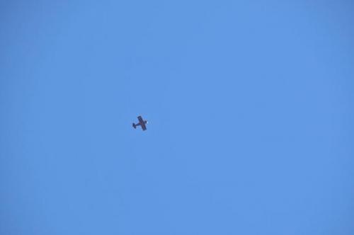Test Flight - Flying Overhead