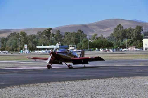 Test Flight - Taxi Back