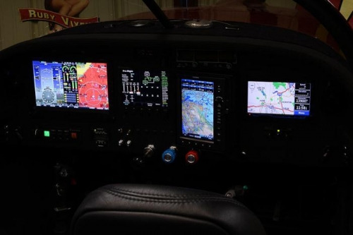 All Glass Instrument Panel