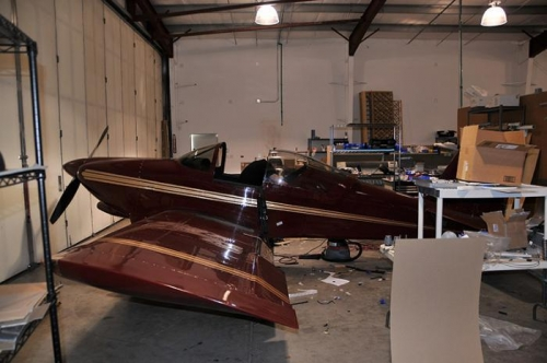 Classic Aero Designs - RV-6 Nearly Ready