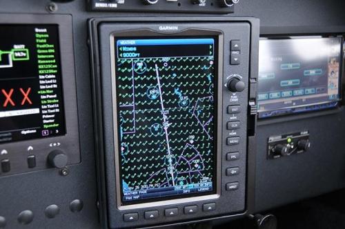 Enroute To Livermore - Garmin 696 (Winds Aloft)