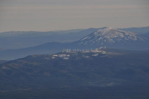 Enroute To Livermore - Giant Windmills In Distance