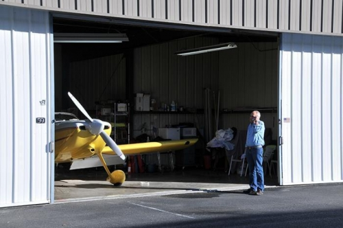 Getting Ready To Leave Livermore - Harry Crosby's RV-6