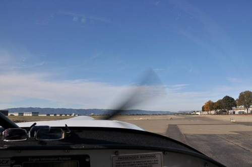 Getting Ready To Leave Livermore - Taxiing Out