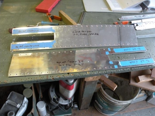F-704H side plates deburred and countersunk.
