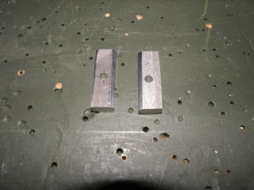 Spar bar spacer fabrication complete.
