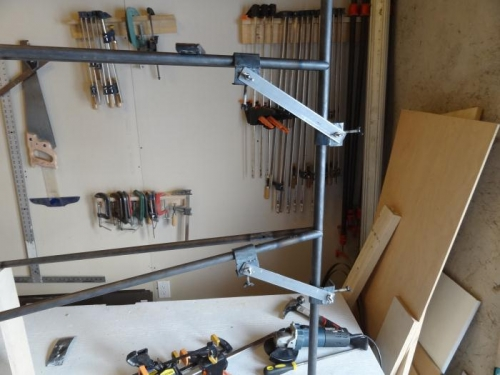 Tailpost and clamps