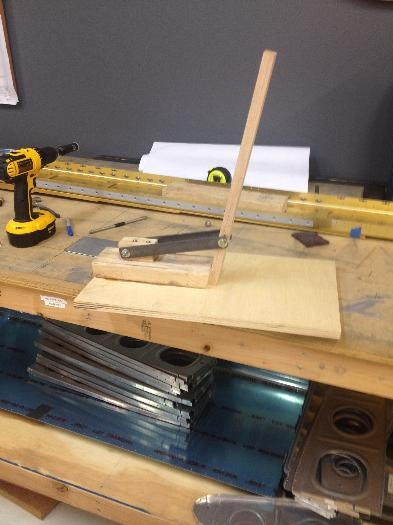 Flange tool for making the Rib Flanges 90 degrees with ease