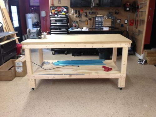 Built one more bench