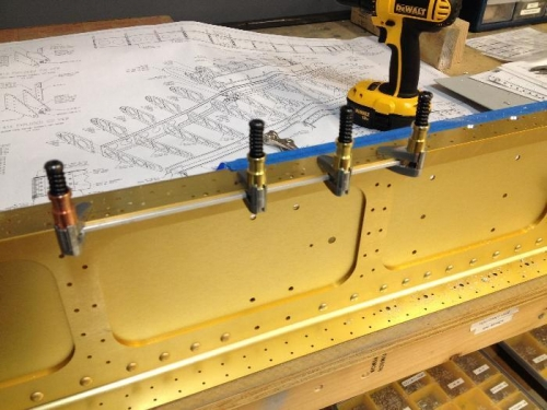 Jig Clamped in Place