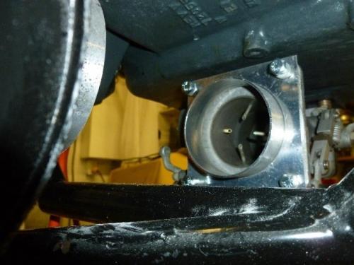 Worked on Carburetor intake
