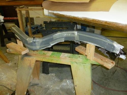 Peel-ply on main gear