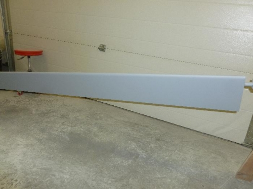 Aileron's got sanded and primed