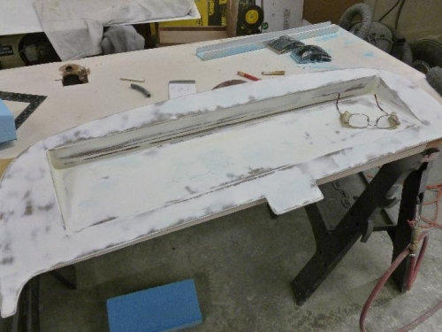 Panel ready for primer