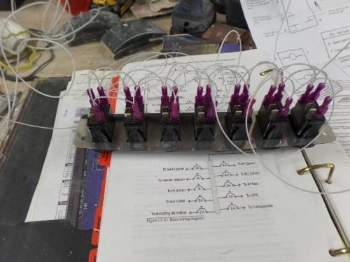 Led wiring.