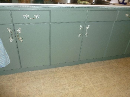 Kitchen cupboard make over
