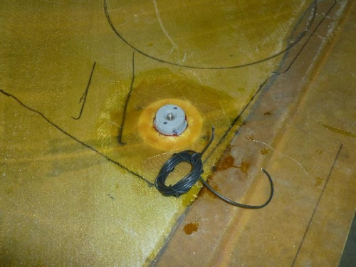 Ground wire cut to lenght