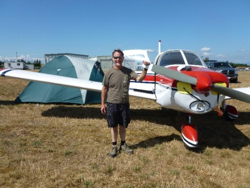 Just me with the Piper 140
