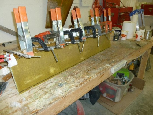 A few clamps for this job