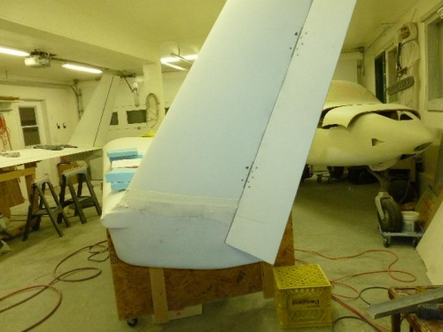 Winglet cut for rudder