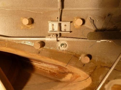 Die-grinder removed flox