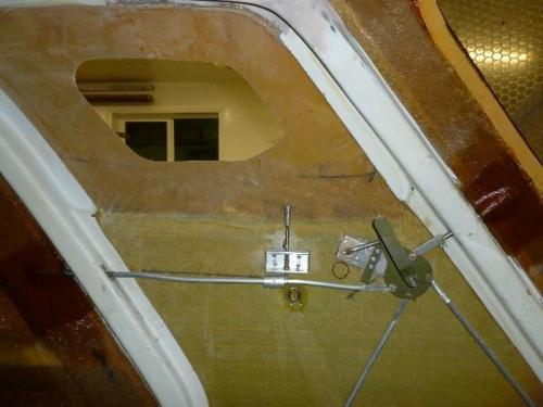 Pilot door receivers bided in.