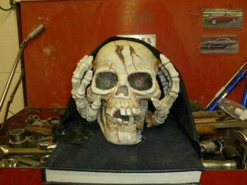 Fix Halloween skull