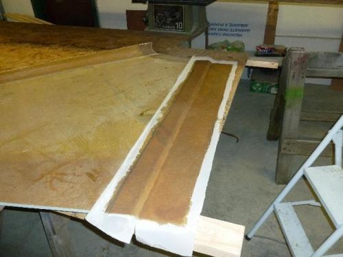 2 bid lay-up and peel-ply