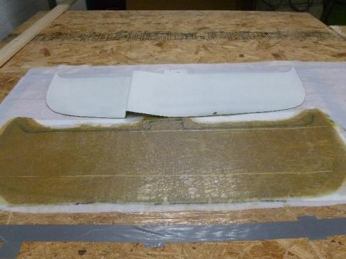 Making flat panel