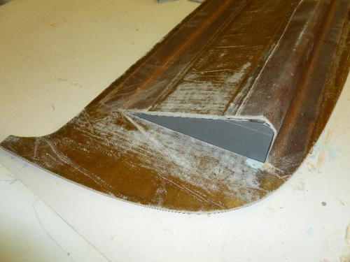 Duct tape on wood