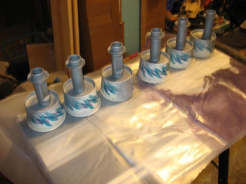 Exhaust Stacks Painting