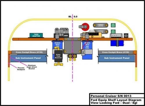 Fwd Av Shelf viewed from AFt