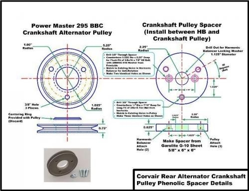Drive Pulley and Spacer