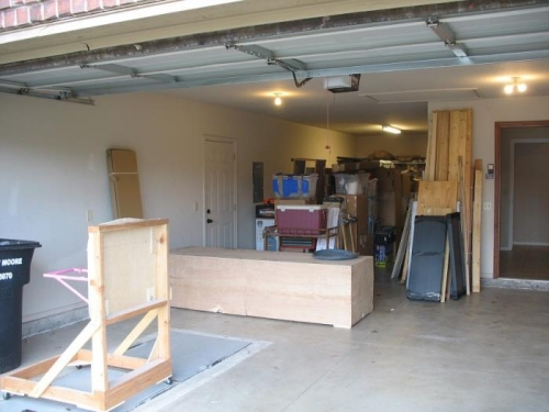 After the Movers Finished Unloading