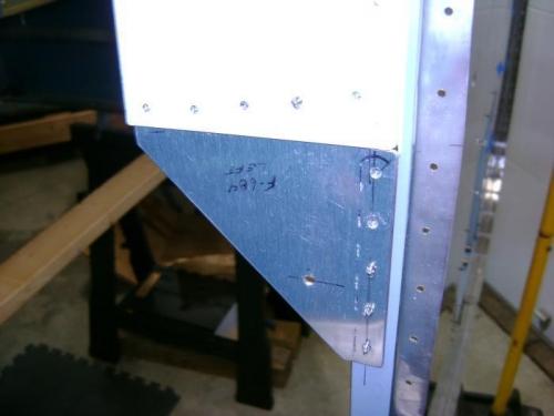 Drill to firewall bracket
