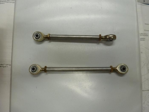 roll and pitch pushrods
