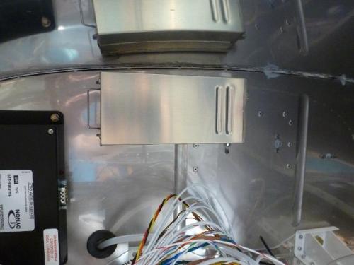 transponder mounted